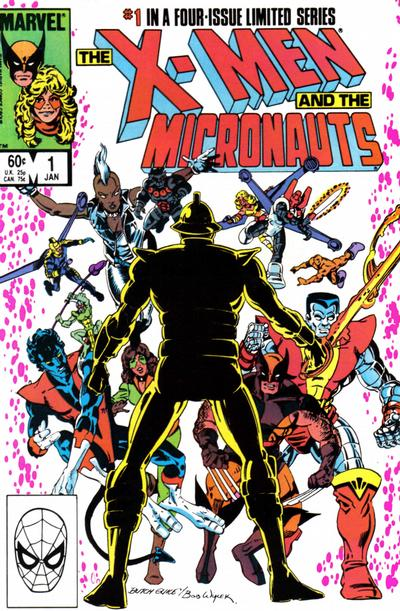 Cover for The X-Men and the Micronauts (Marvel, 1984 series) #1