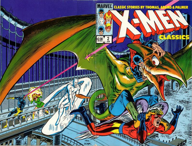 Cover for X-Men Classics Starring the X-Men (Marvel, 1983 series) #2