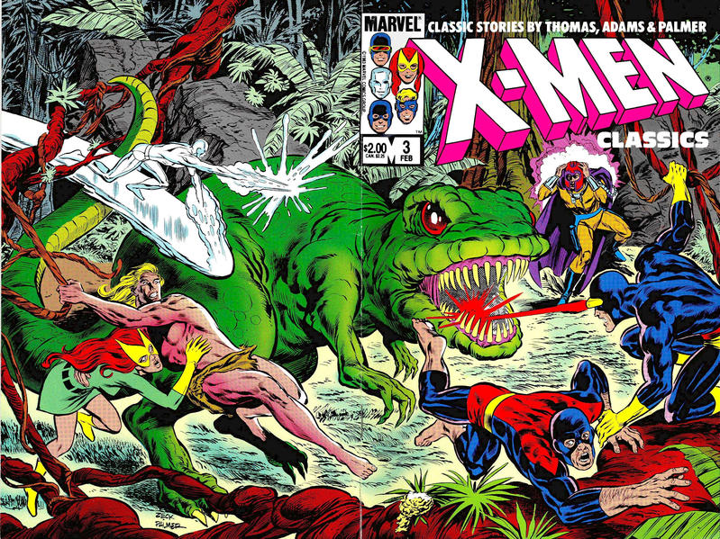Cover for X-Men Classics Starring the X-Men (Marvel, 1983 series) #3