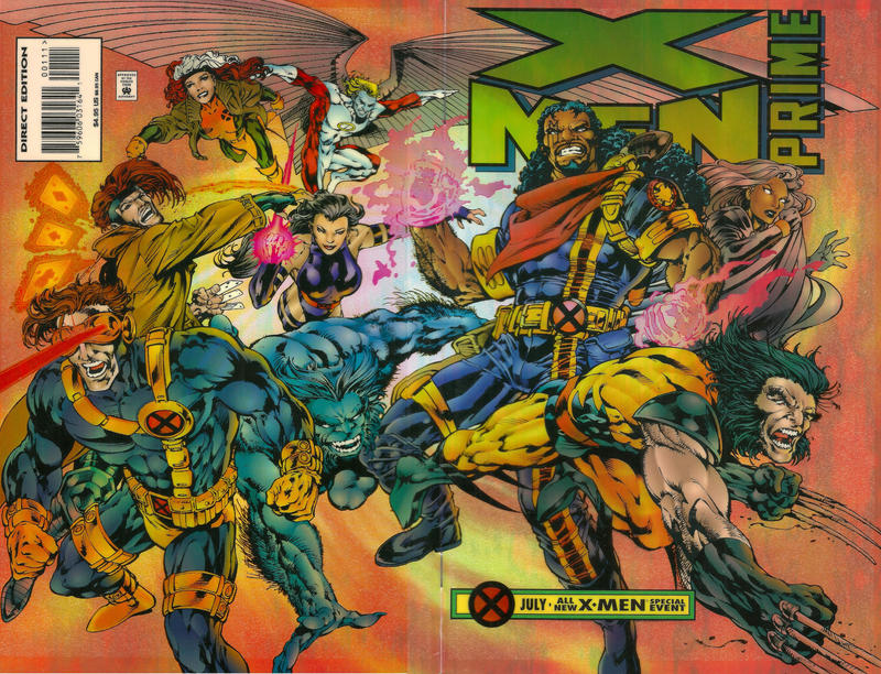Cover for X-Men Prime (Marvel, 1995 series)