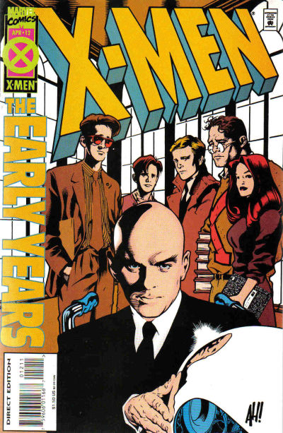 Cover for X-Men: The Early Years (Marvel, 1994 series) #12