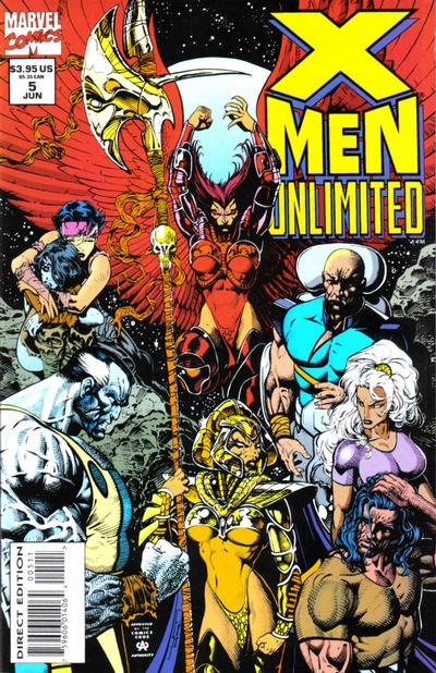 Cover for X-Men Unlimited (Marvel, 1993 series) #5 [Direct Edition]