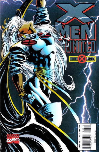 Cover for X-Men Unlimited (Marvel, 1993 series) #7