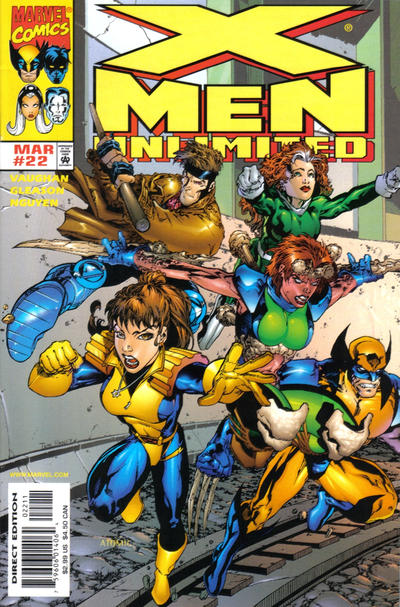 Cover for X-Men Unlimited (Marvel, 1993 series) #22