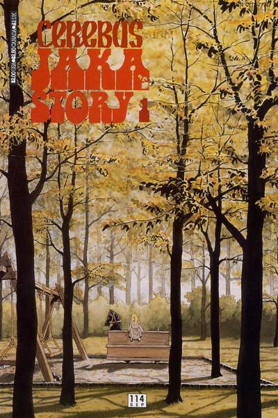 Cover for Cerebus (Aardvark-Vanaheim, 1977 series) #114