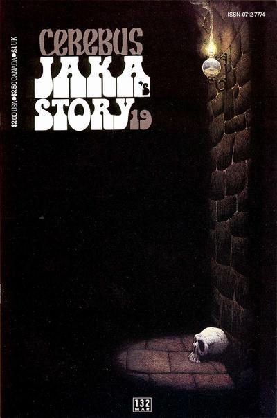 Cover for Cerebus (Aardvark-Vanaheim, 1977 series) #132