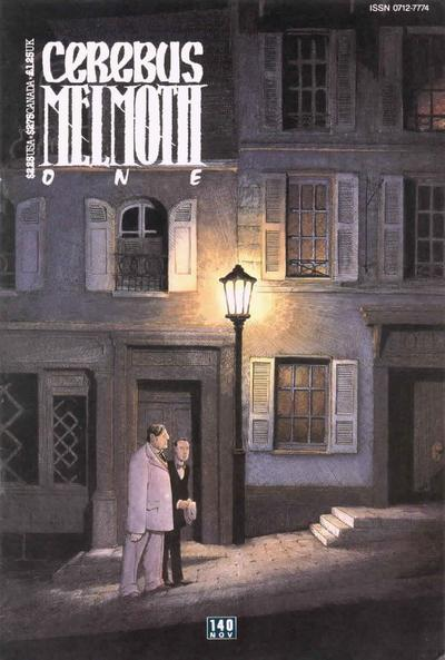 Cover for Cerebus (Aardvark-Vanaheim, 1977 series) #140