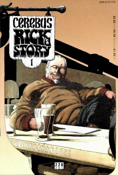 Cover for Cerebus (Aardvark-Vanaheim, 1977 series) #220