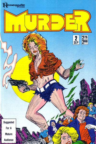 Cover for Murder (Renegade Press, 1986 series) #2