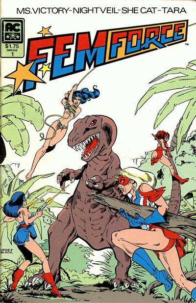 Cover for FemForce (AC, 1985 series) #1