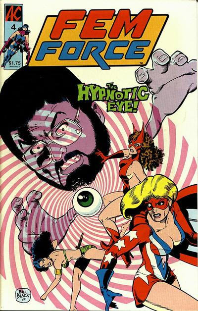 Cover for FemForce (AC, 1985 series) #4