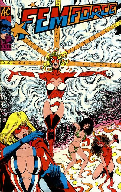 Cover for FemForce (AC, 1985 series) #6