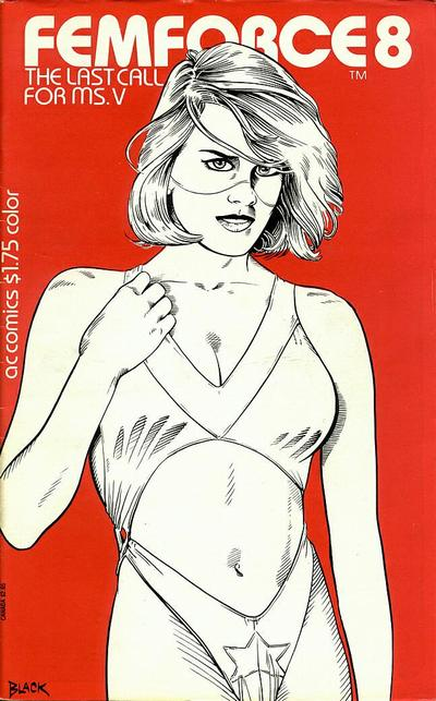 Cover for FemForce (AC, 1985 series) #8