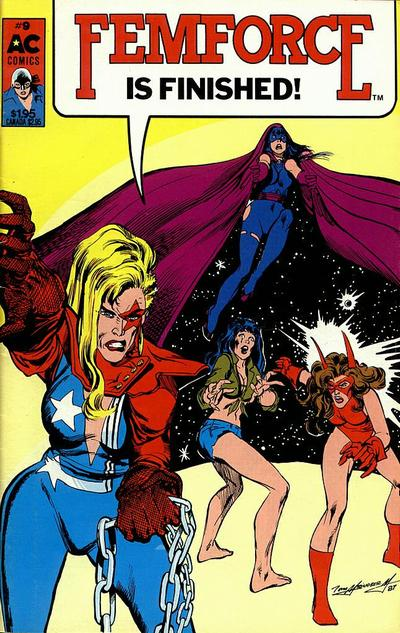 Cover for FemForce (AC, 1985 series) #9