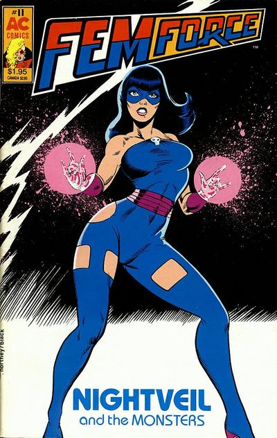 Cover for FemForce (AC, 1985 series) #11