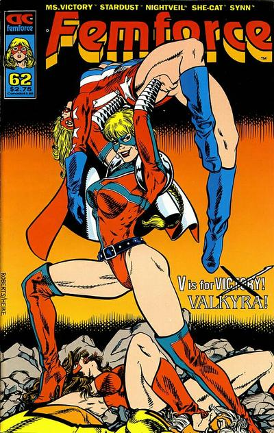Cover for FemForce (AC, 1985 series) #62