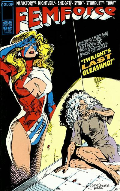 Cover for FemForce (AC, 1985 series) #82