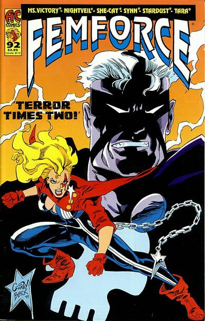 Cover for FemForce (AC, 1985 series) #92