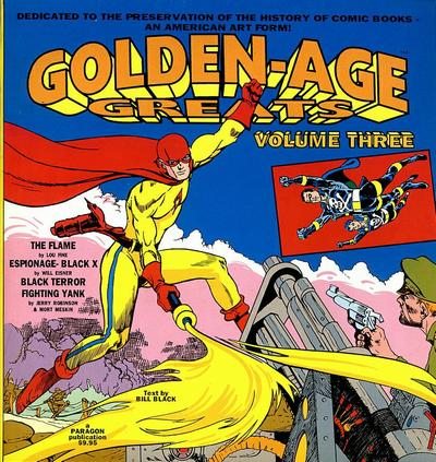 Cover for Golden-Age Greats (AC, 1994 series) #3