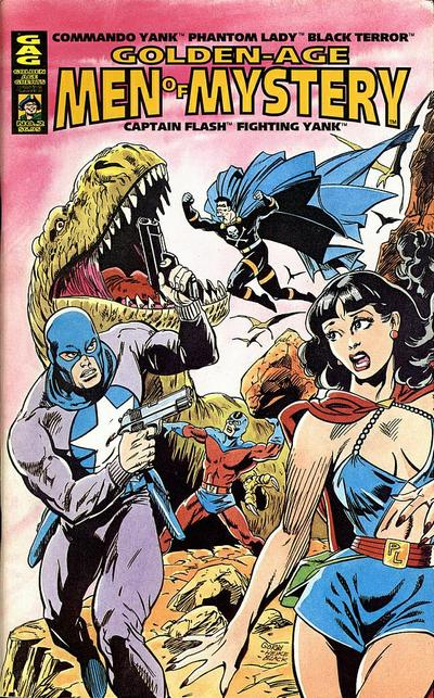 Cover for Golden-Age Men of Mystery (AC, 1996 series) #2