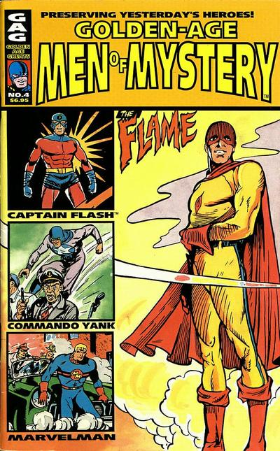 Cover for Golden-Age Men of Mystery (AC, 1996 series) #4