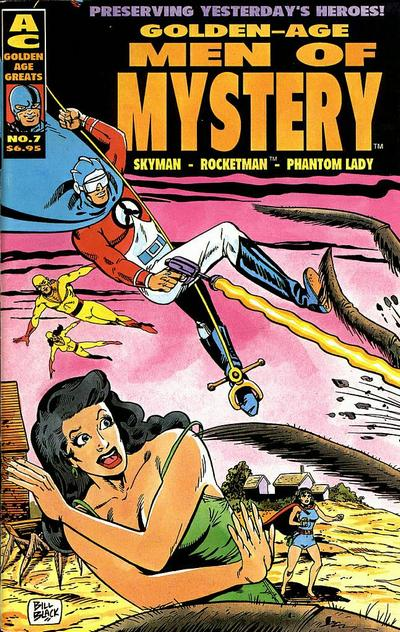 Cover for Golden-Age Men of Mystery (AC, 1996 series) #7