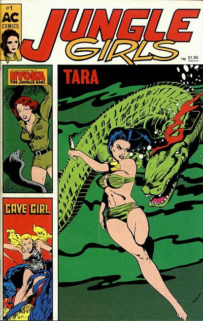Cover for Jungle Girls (AC, 1989 series) #1