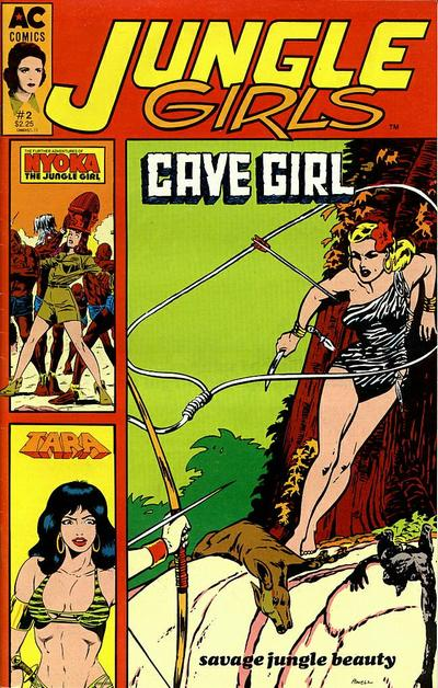 Cover for Jungle Girls (AC, 1989 series) #2