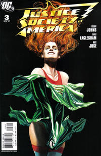 Cover Thumbnail for Justice Society of America (DC, 2007 series) #3 [Standard Cover Edition]