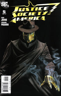 Cover Thumbnail for Justice Society of America (DC, 2007 series) #5 [Standard Cover Edition]