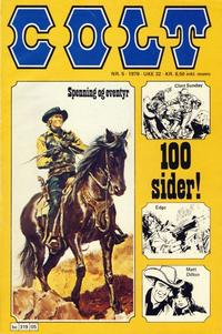 Cover Thumbnail for Colt (Semic, 1978 series) #5/1978