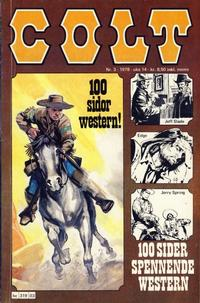 Cover Thumbnail for Colt (Semic, 1978 series) #3/1978