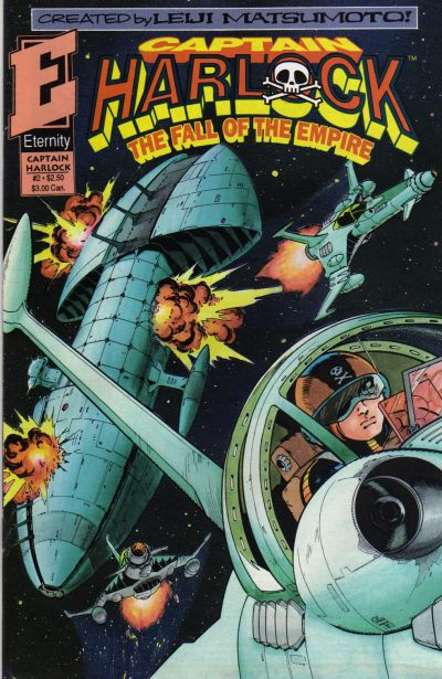 Cover for Captain Harlock: Fall of the Empire (Malibu, 1992 series) #2