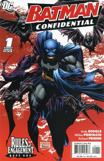 Cover for Batman Confidential (DC, 2007 series) #1