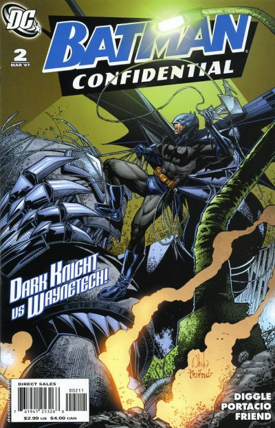 Cover for Batman Confidential (DC, 2007 series) #2