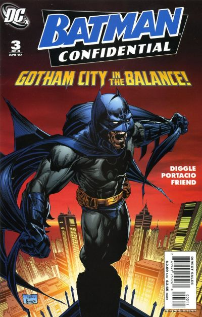 Cover for Batman Confidential (DC, 2007 series) #3