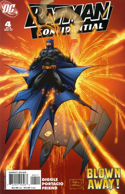 Cover for Batman Confidential (DC, 2007 series) #4