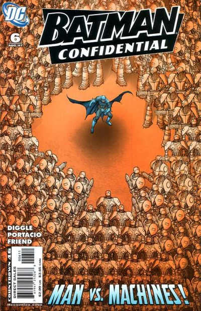 Cover for Batman Confidential (DC, 2007 series) #6