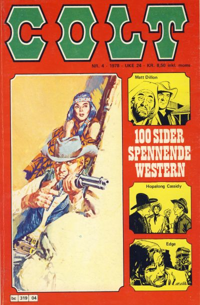 Cover for Colt (Semic, 1978 series) #4/1978
