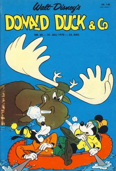 Cover for Donald Duck & Co (Hjemmet / Egmont, 1948 series) #30/1970