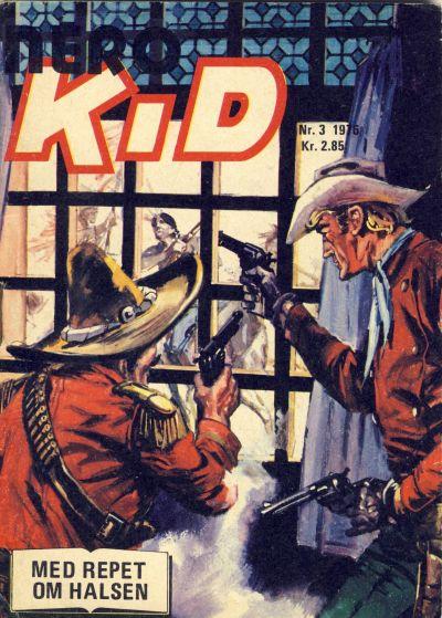 Cover for Nero Kid (Serieforlaget / Se-Bladene / Stabenfeldt, 1975 series) #3/1976