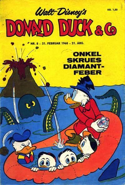 Cover for Donald Duck & Co (Hjemmet / Egmont, 1948 series) #8/1968