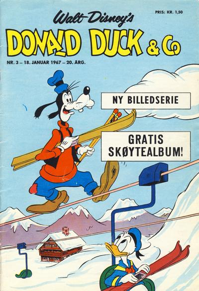 Cover for Donald Duck & Co (Hjemmet / Egmont, 1948 series) #3/1967