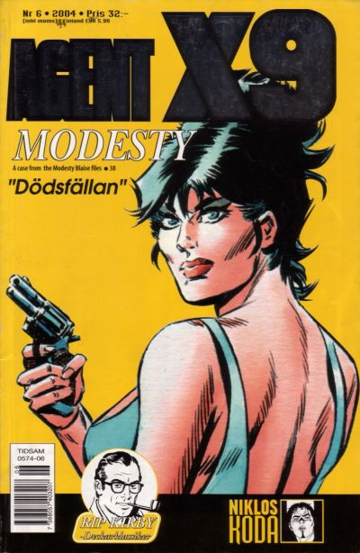 Cover for Agent X9 (Egmont, 1997 series) #6/2004