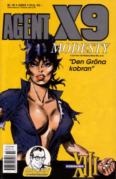 Cover for Agent X9 (Egmont, 1997 series) #10/2004