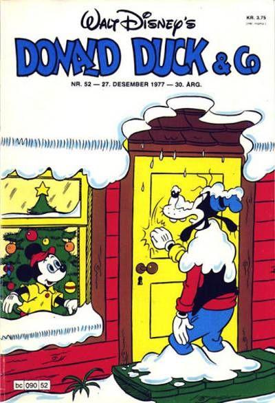 Cover for Donald Duck & Co (Hjemmet / Egmont, 1948 series) #52/1977