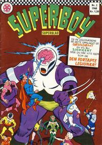 Cover Thumbnail for Superboy (Serieforlaget / Se-Bladene / Stabenfeldt, 1967 series) #2/1968