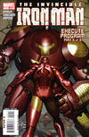 Cover for Iron Man (Marvel, 2005 series) #12