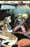 Cover for Asrial vs. Cheetah (Antarctic Press, 1996 series) #1