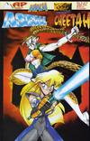 Cover for Asrial vs. Cheetah (Antarctic Press, 1996 series) #2